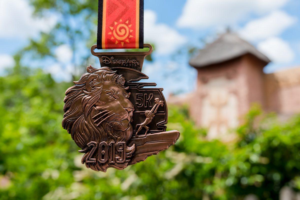 Médaille Disneyland Paris Run Weekend 2019