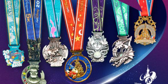 Médailles-RunDisney2018