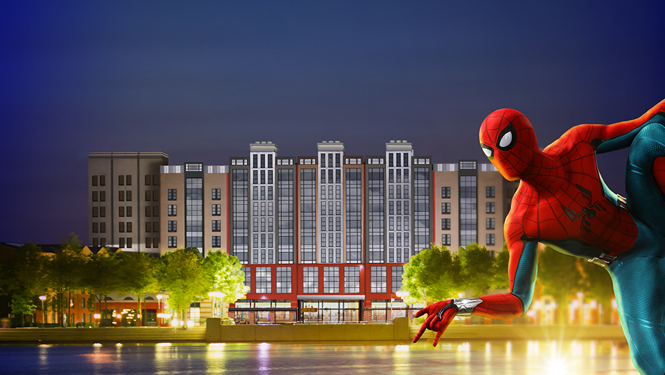 DISNEY'S HOTEL NEW YORK® – THE ART OF MARVEL