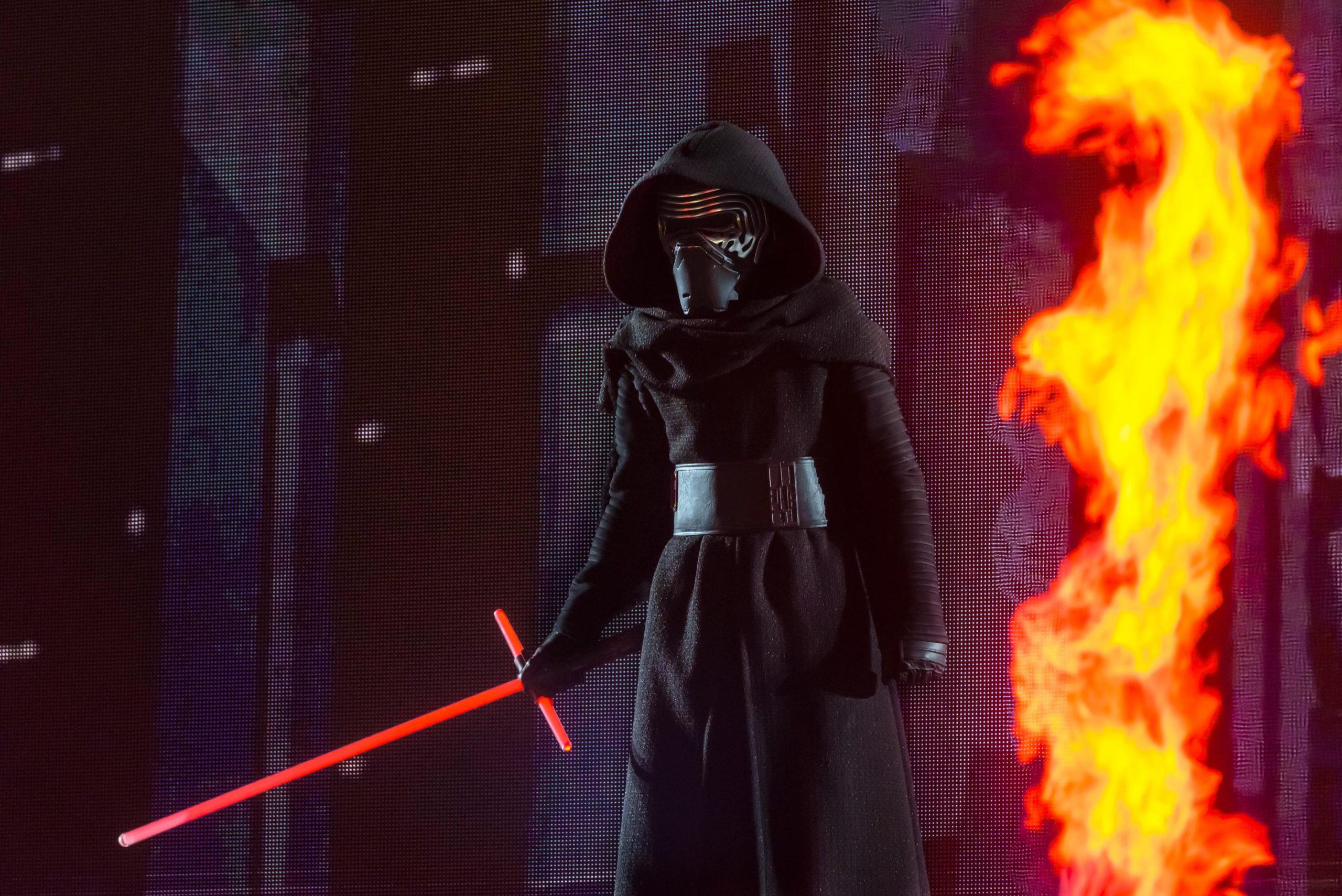 Kylo Ren durant Légendes de la Force - Une Célébration Star Wars