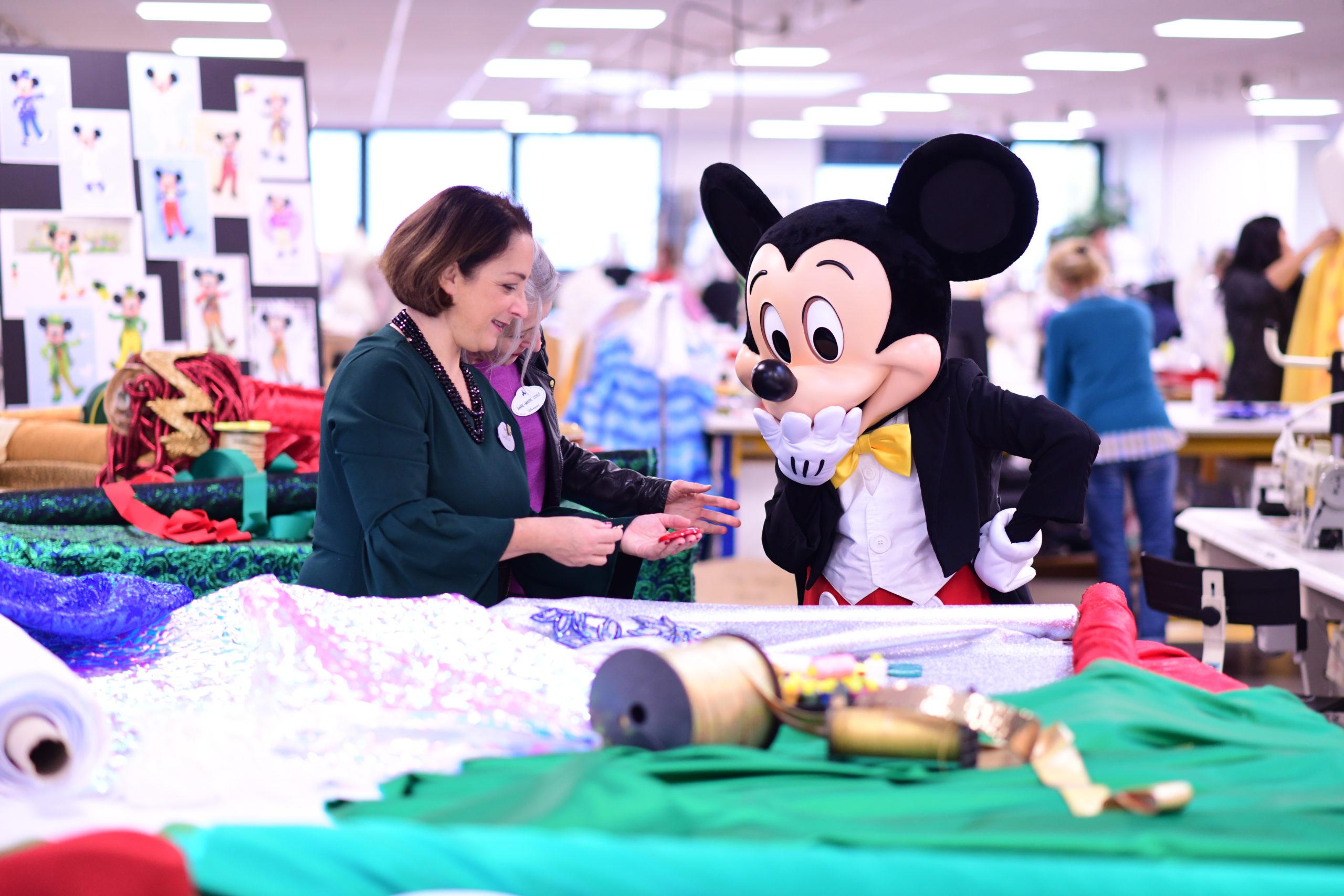 Mickey à l'Atelier de Couture