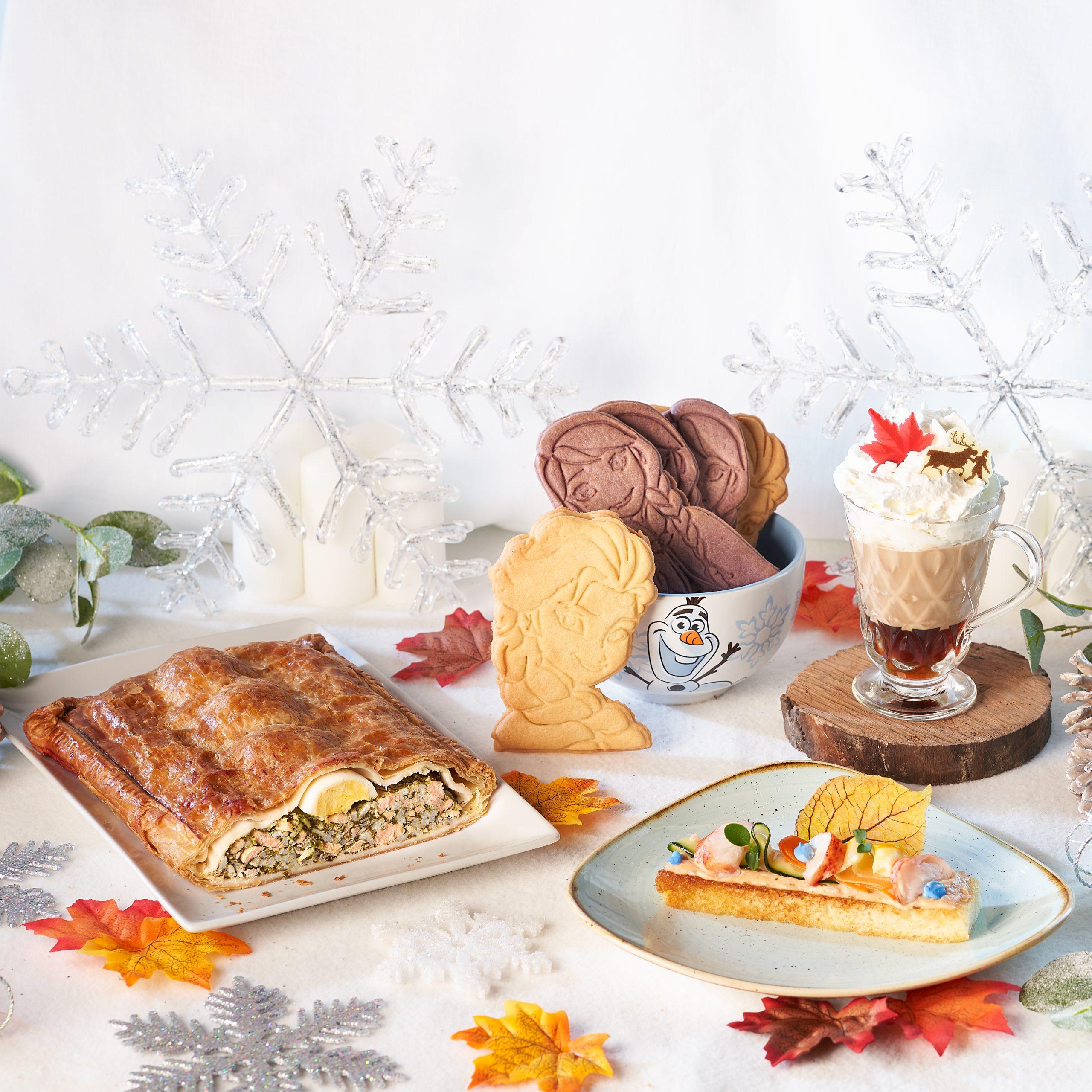 Spécialités FOOD de La Célébration de la Reine des Neiges