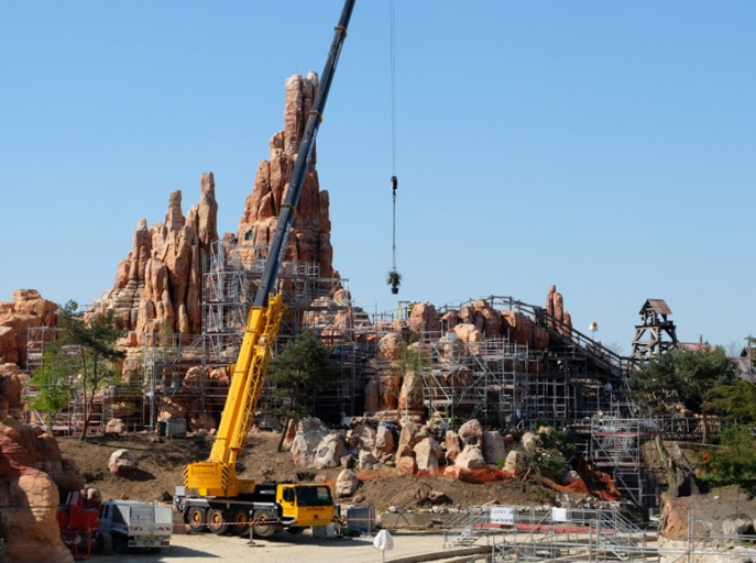 Rénovation Big Thunder Mountain