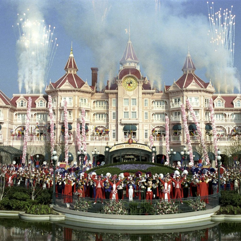 L'inauguration du Parc Disneyland Paris