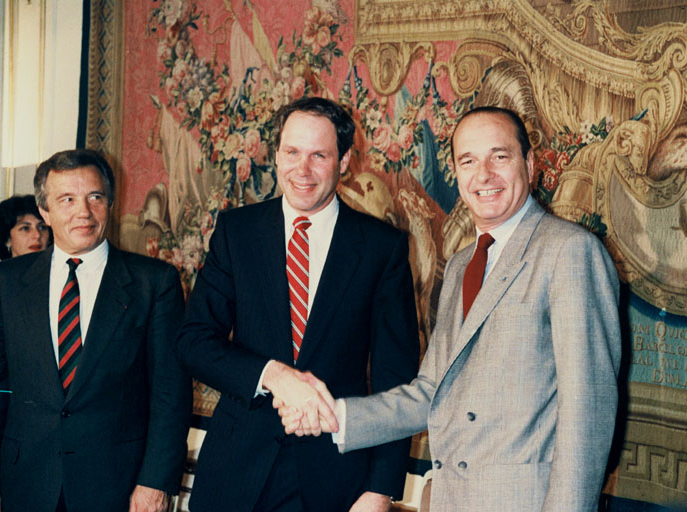 Signature de la convention en mars 1987