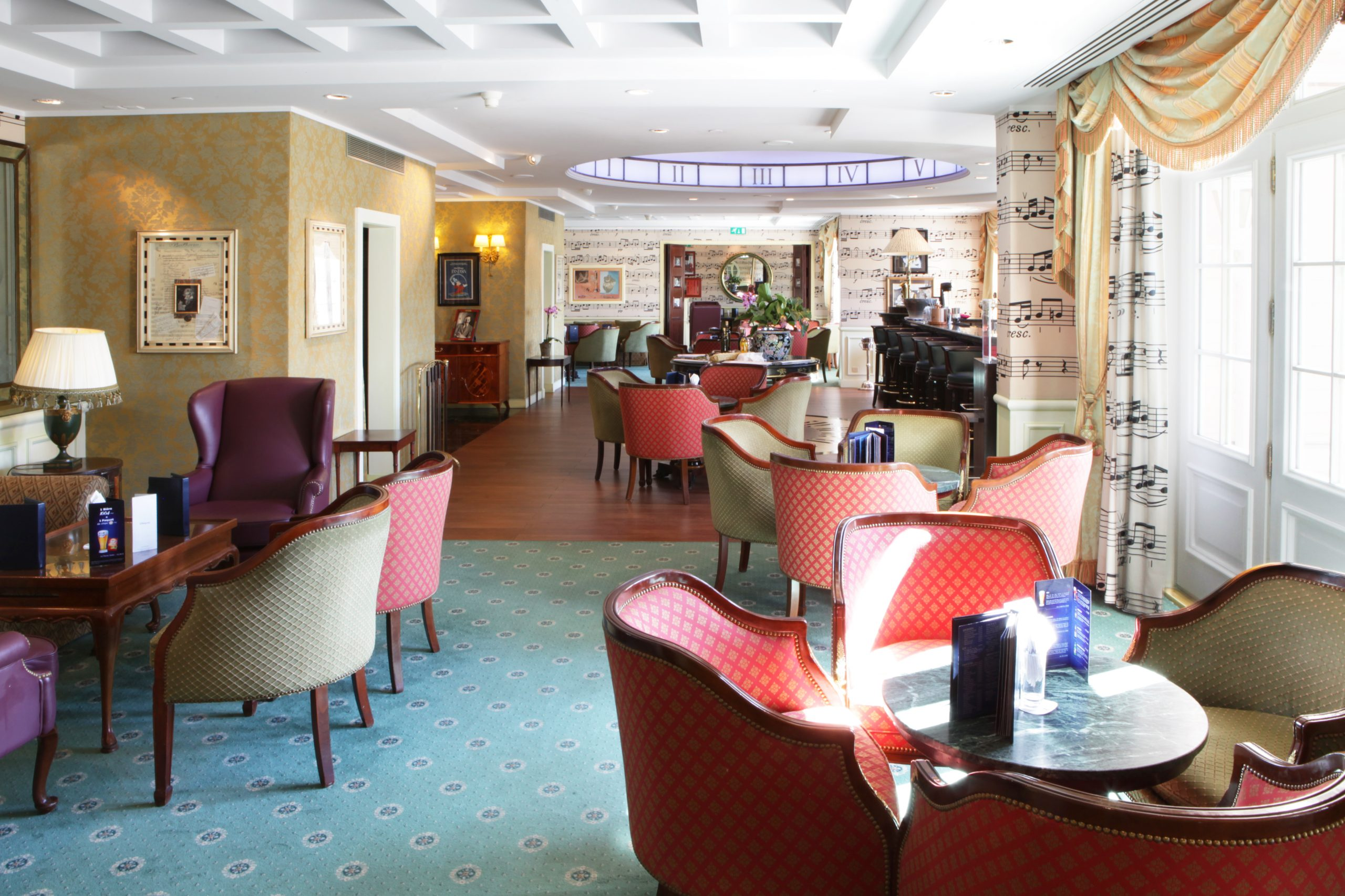 Café Fantasia - Disneyland Hôtel - intérieur