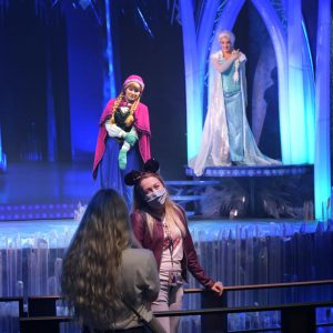 Point Selfie avec Anna et Elsa