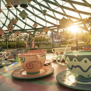 Mad Hatter's Tea Cups - Disneyland Paris