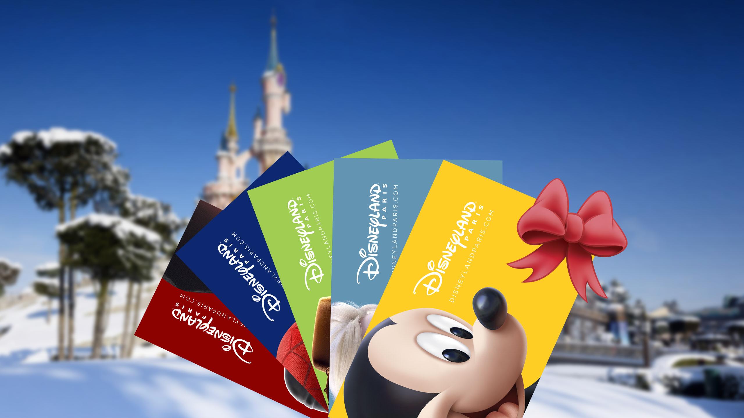 Offrir Disneyland Paris pour Noël
