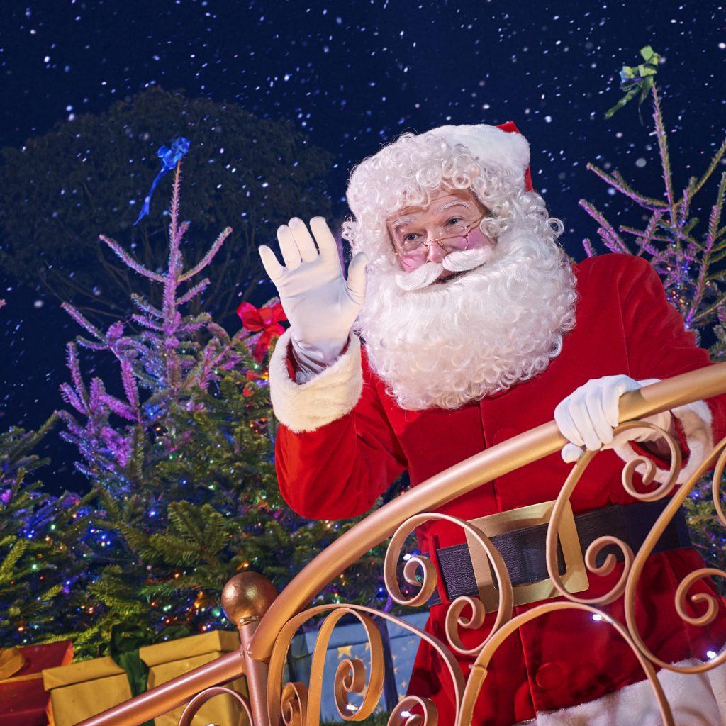 Santa at DLP