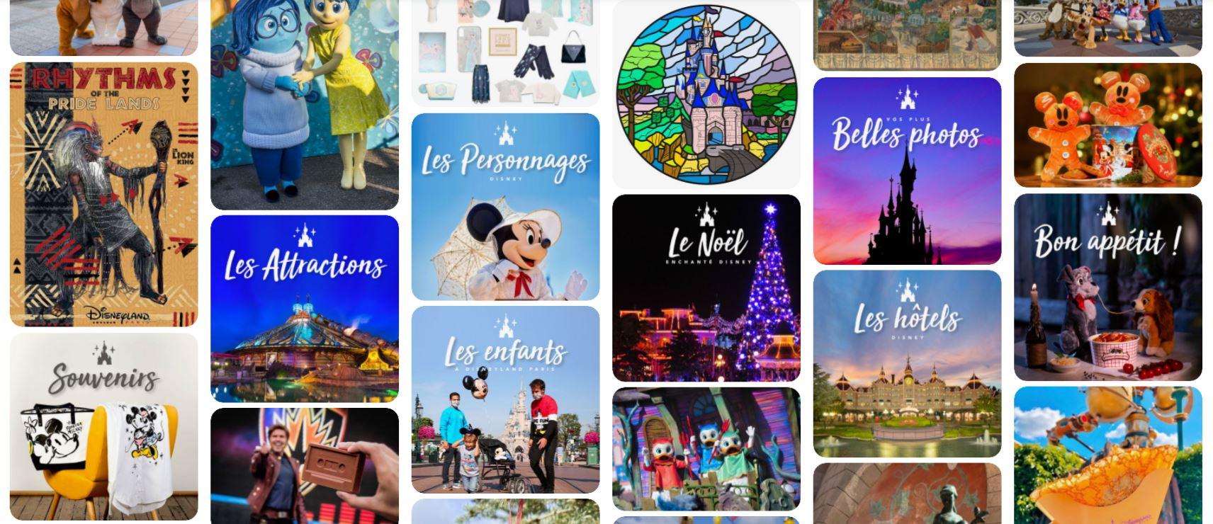Disneyland Paris est maintenant sur Pinterest