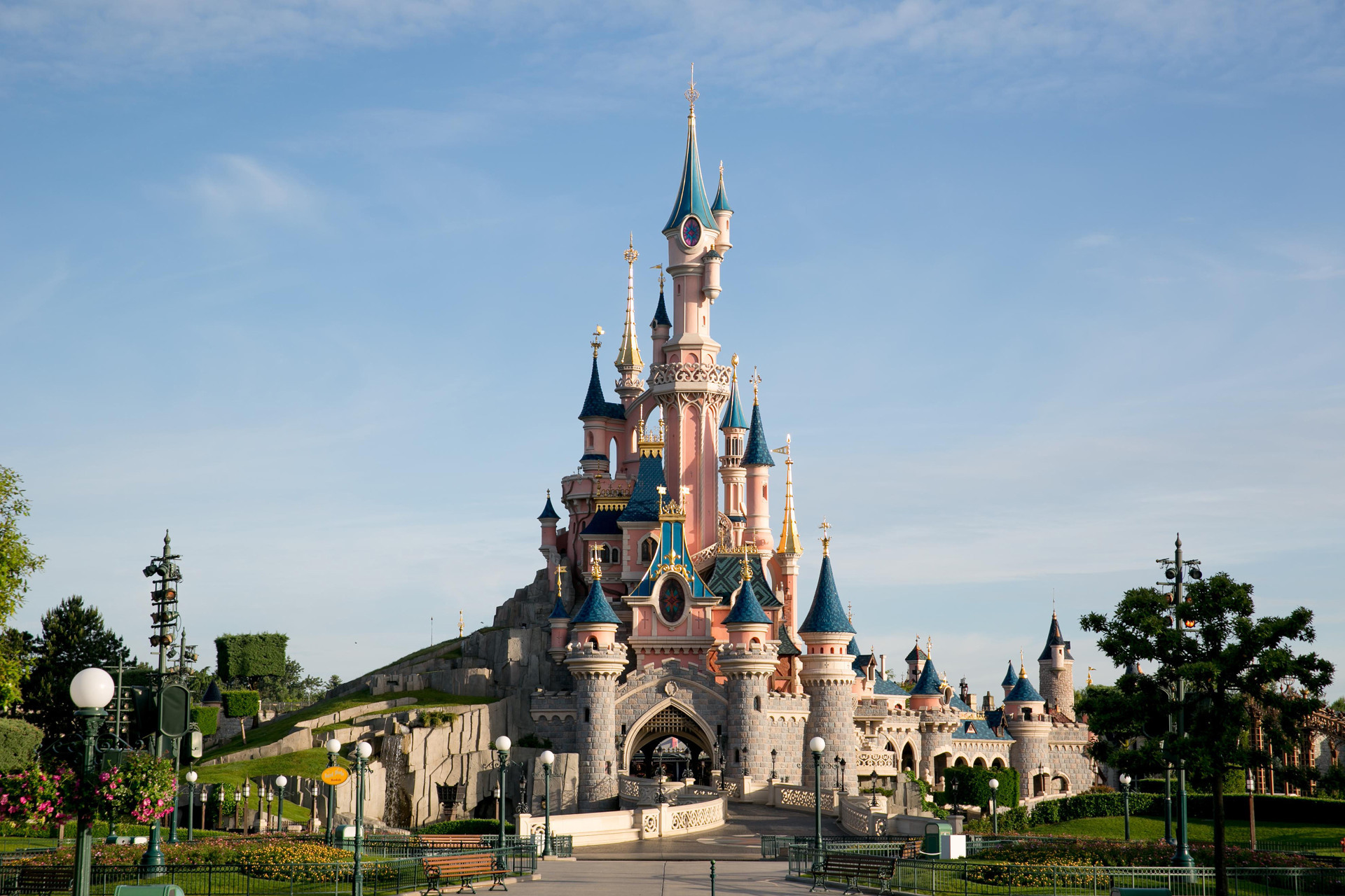 Chateau de disneyland paris