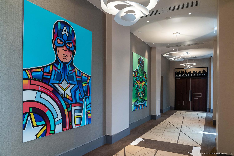 Disney's Hotel New York - The Art of Marvel - Pagina 5 Van-Orton-artwork