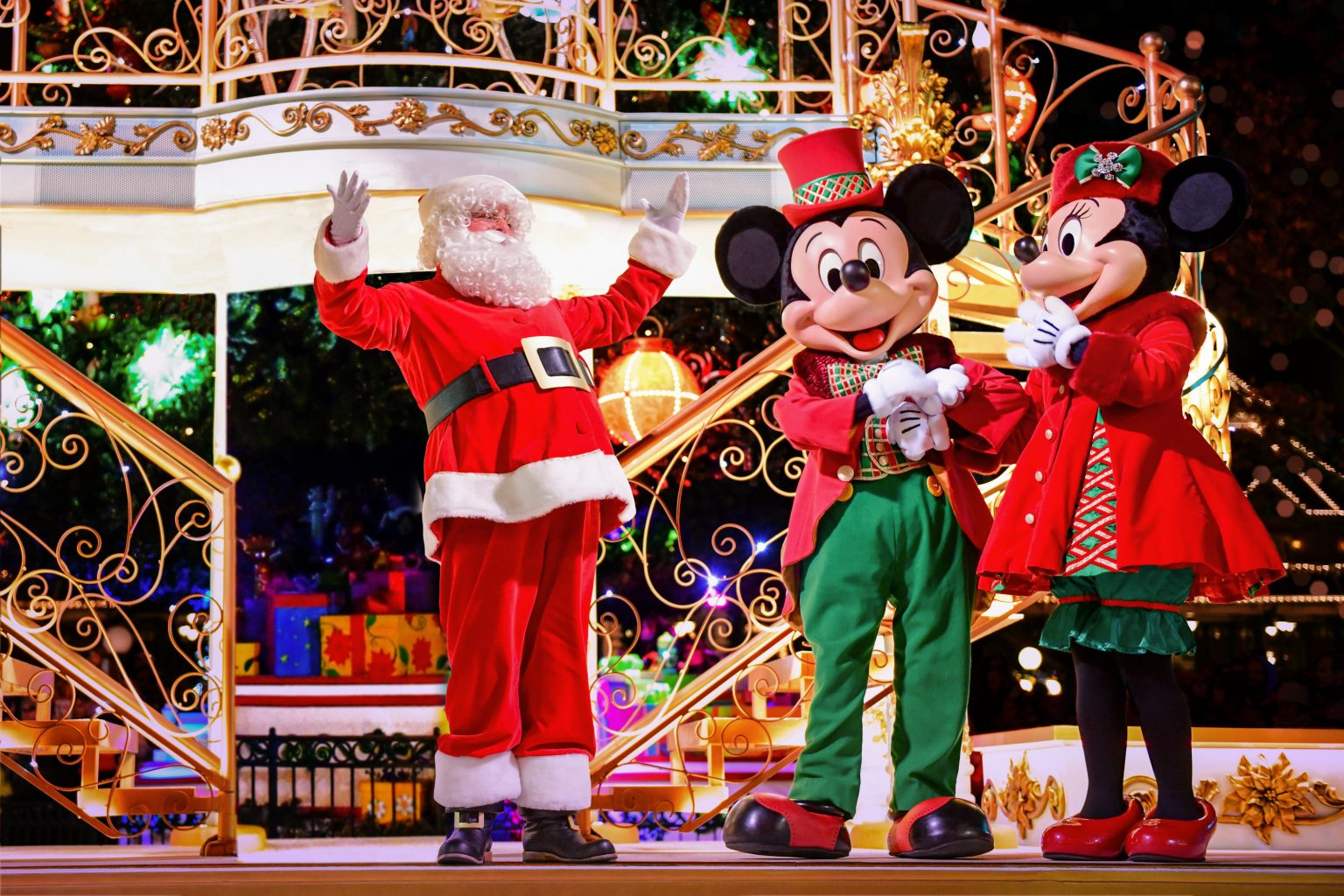 Disneyland Paris anuncia temporada de Natal