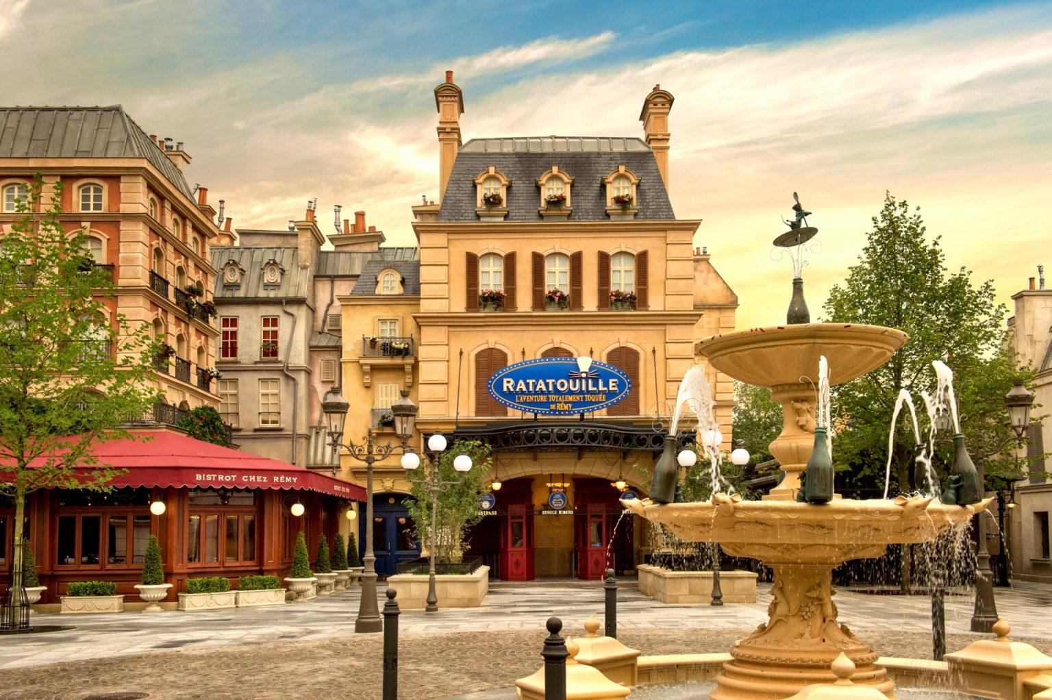 Disneyland Paris cria área dedicada aos filmes Pixar