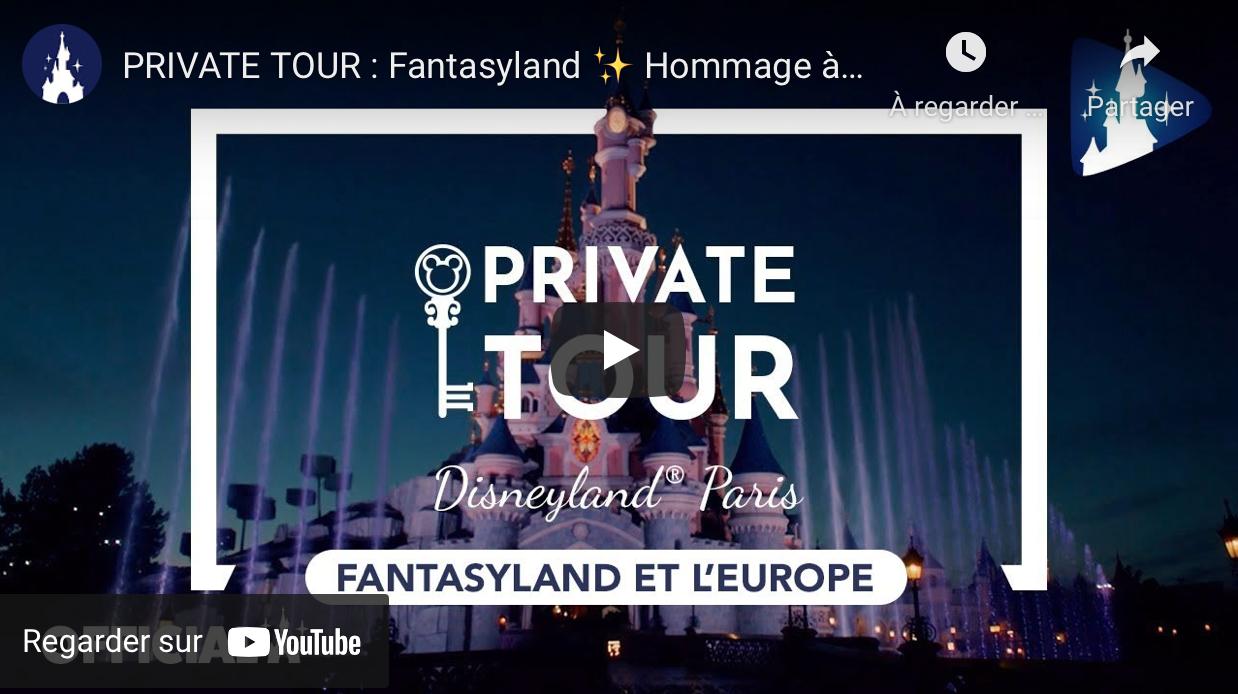 Private tour Fantasyland