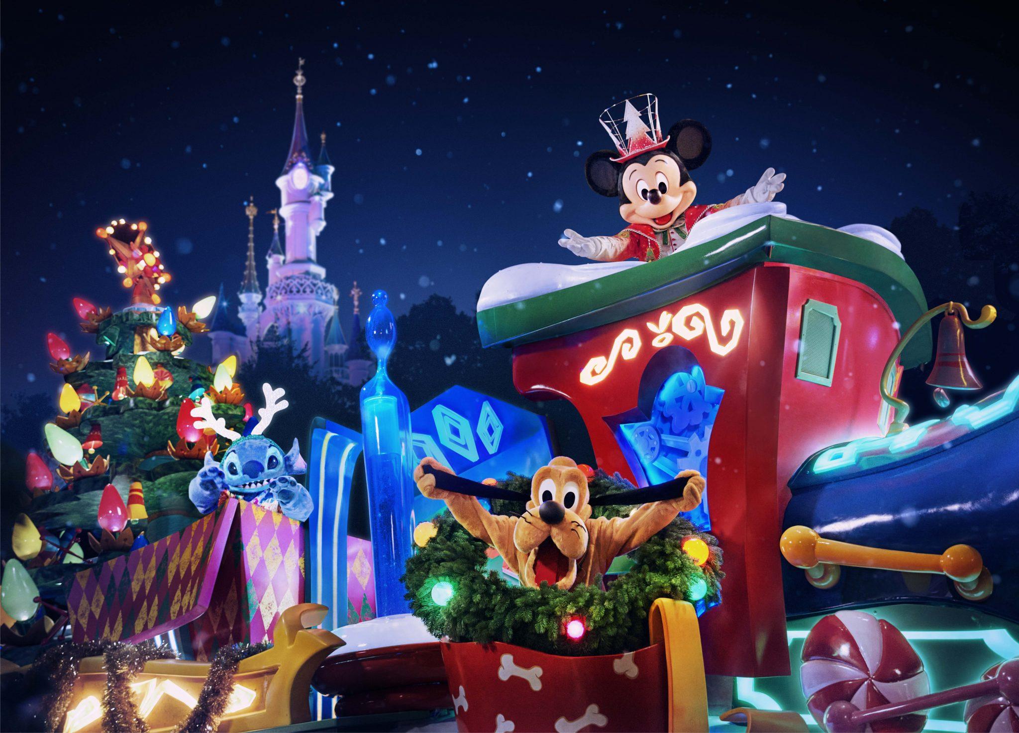 Programação de Natal da Disneyland Paris inclui novo desfile
